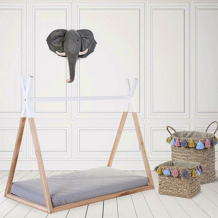 Camas Montessori: ¿Cama casita o Cama Tipi?