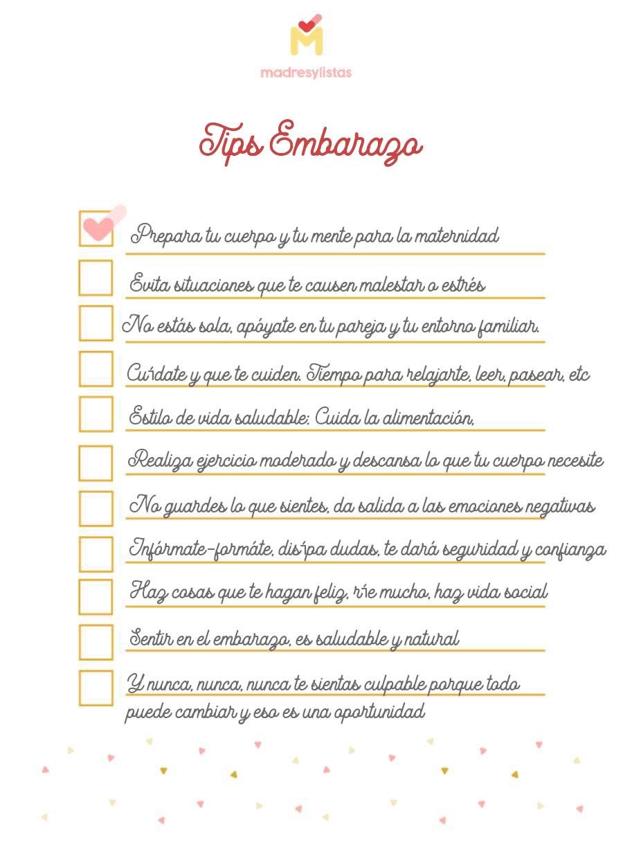 Tips Embarazo