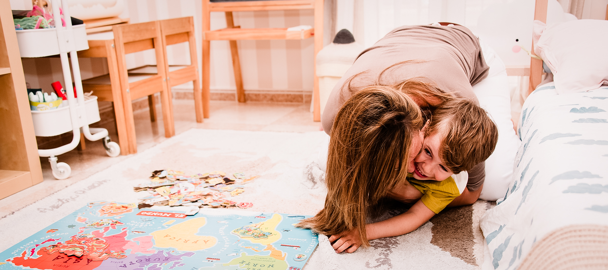 ¿Cómo afronta el aislamiento con niños? Psicología